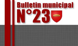 Bulletin municipal n° 23