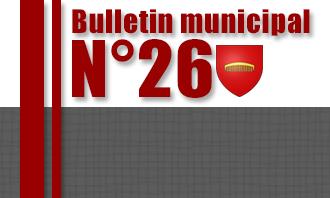Bulletin municipal N°26