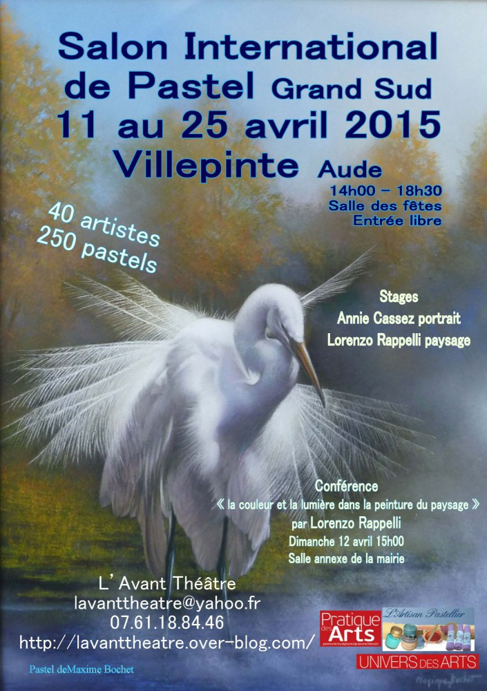 affiche salon inter pastel