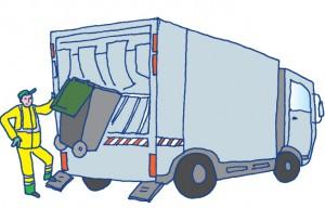 Collecte des ordures ménagères le mardi 1er novembre 2016