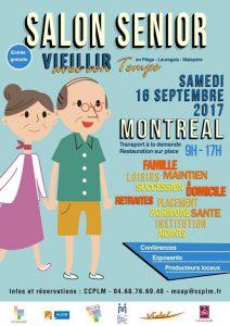 Salon Sénoirs salle polyvalente de Montréal le samedi 16 septembre 2017
