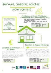 Présentation permanences habitat sur le Pôle d'Equilibre Territorial et Rural du Pays Lauragais