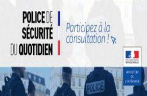 Questionnaire sur la concertation locale Police de sécurité du Quotidien
