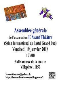 Assemblée générale de L'Avant Théâtre