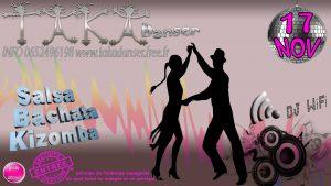 Soirée dansante avec l'association Taka Danser