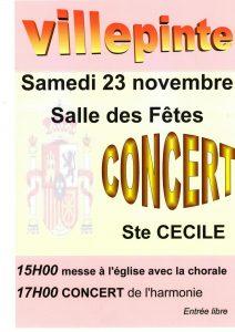 Concert Sainte Cécile