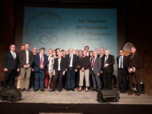 Cérémonie de remise de prix économique Les Fibres d'Or : catégorie Développement Durable