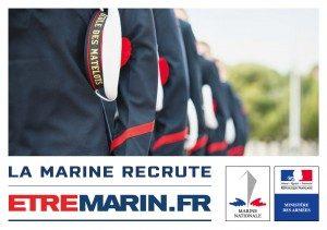 La Marine Nationale recrute : 5 postes à pourvoir à Villemagne et à Villepinte