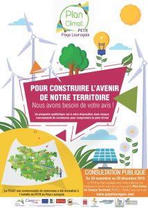 Consultation publique Plan Climat Air Energie Territorial