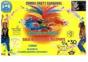 Zumba Party et représentation de danse organisée par l'association