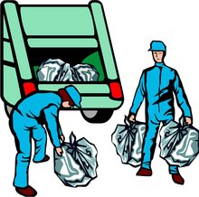 Ramassage des ordures ménagéres