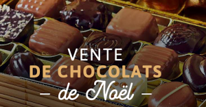 Vente de chocolats au profit de la coopérative scolaire