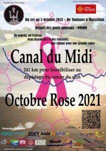 Participation à Octobre Rose – Exploit sportif de Gilles Petitgas